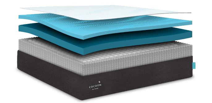 1. Cooling Memory Foam